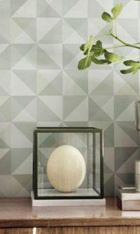 کاغذ دیواری مدرن و هندسی